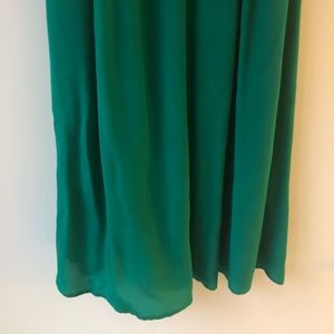 Anthropologie Dresses - Anthropologie Lil Flickering Slip Dress Green 2